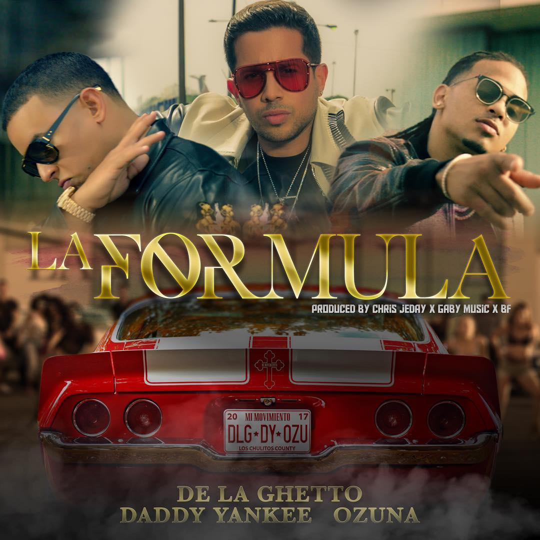 De La Ghetto Ft. Daddy Yankee & Ozuna - La Fórmula