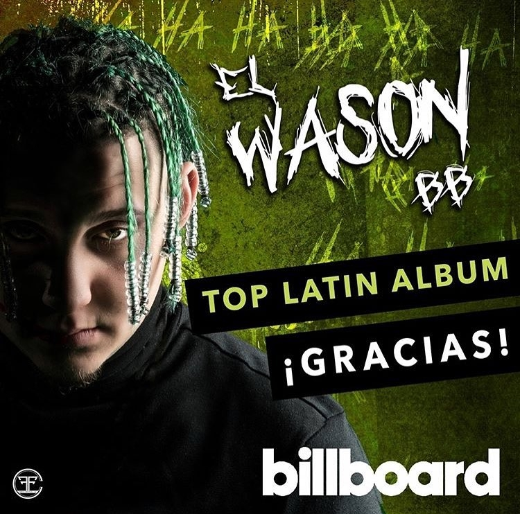 Lary Over debuta en el Top 20 de Billboard con