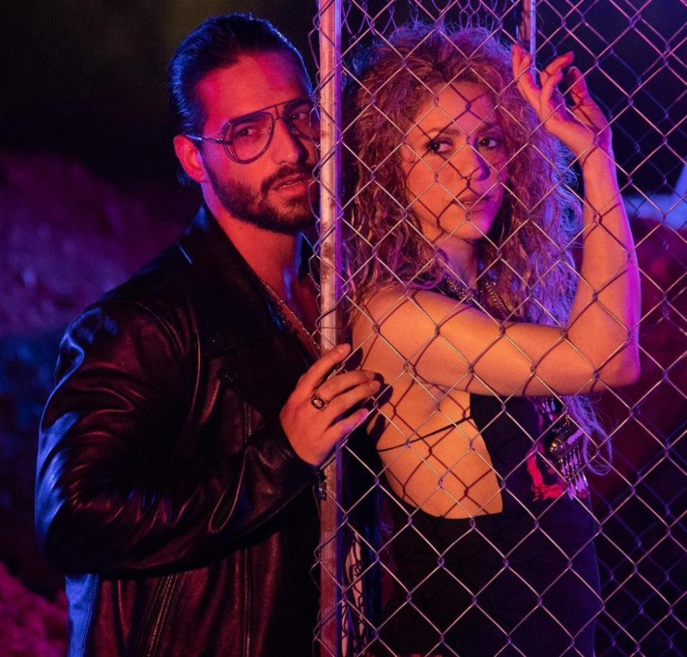 "Shakira y Maluma superan 10 millones de views en YouTube con ""Clandestino"""