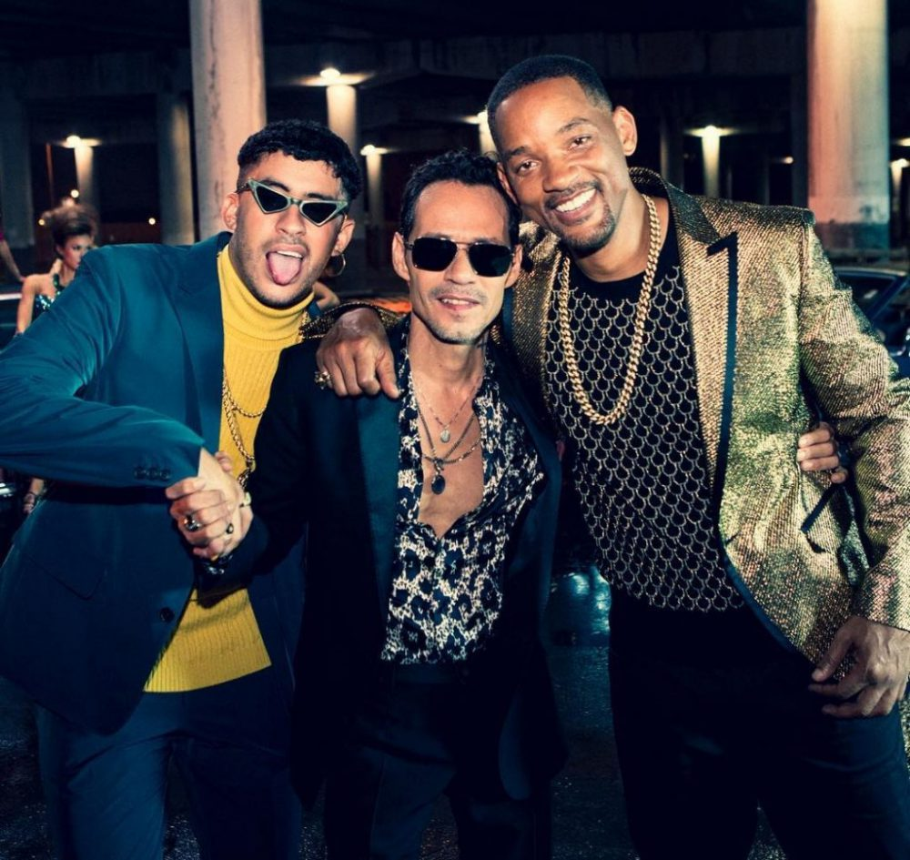 Marc Anthony, Will Smith y Bad Bunny presentan nuevo sencillo