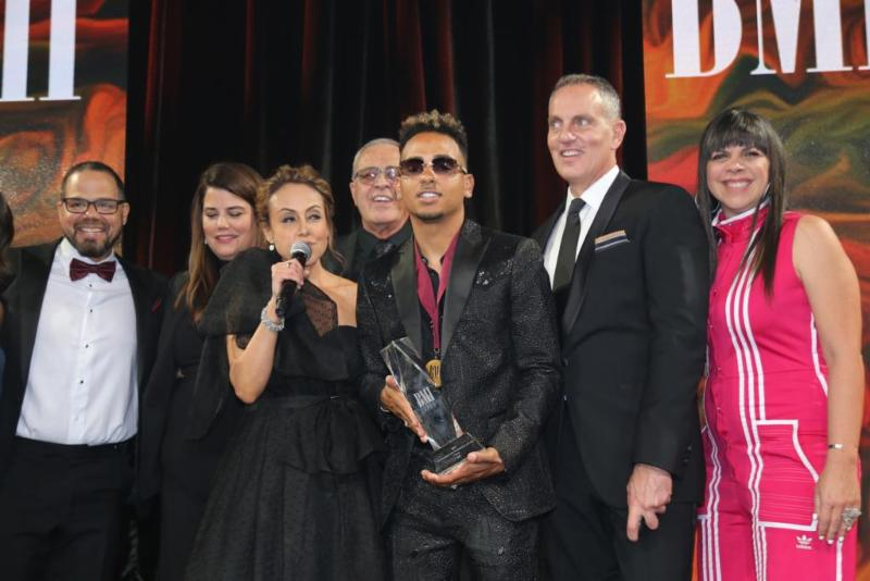 Ozuna, el máximo galardonado en la ceremonia de BMI Latin Music Awards 2019