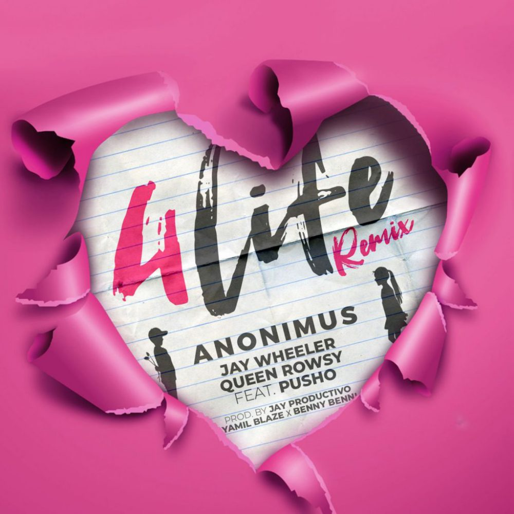 Anonimus, Pusho, Jay Wheeler & Queen Rowsy - 4 Life (Remix)